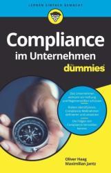 Compliance im Unternehmen fr Dummies (ISBN: 9783527714551)