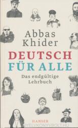 Deutsch für alle - Abbas Khider (ISBN: 9783446261709)
