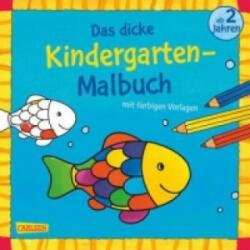 Das dicke Kindergarten-Malbuch. Bd. 2 - Andrea Pöter (ISBN: 9783551186294)