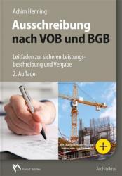 Ausschreibung nach VOB und BGB (ISBN: 9783481034917)