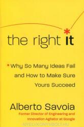 Right It - Alberto Savoia (ISBN: 9780062884657)