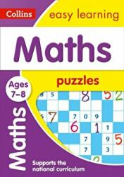 Maths Puzzles Ages 7-8 (ISBN: 9780008266042)