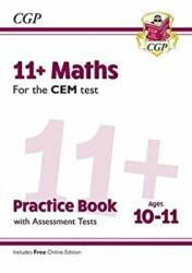 New 11+ CEM Maths Practice Book & Assessment Tests - Ages 10-11 (with Online Edition) - CGP Books (ISBN: 9781789081473)