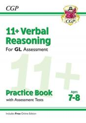 New 11+ GL Verbal Reasoning Practice Book & Assessment Tests - Ages 7-8 (ISBN: 9781789081640)