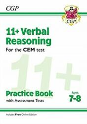 New 11+ CEM Verbal Reasoning Practice Book & Assessment Tests - Ages 7-8 (ISBN: 9781789081688)