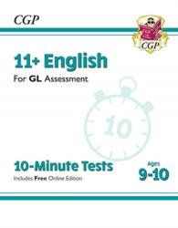 New 11+ GL 10-Minute Tests: English - Ages 9-10 (ISBN: 9781789082142)