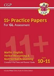 New 11+ GL Practice Papers Mixed Pack - Ages 10-11 (ISBN: 9781789082203)
