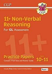 New 11+ GL Non-Verbal Reasoning Practice Papers: Ages 10-11 Pack 1 (ISBN: 9781789082265)