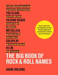 Big Book of Rock & Roll Names: How Arcade Fire, Led Zeppelin, Nirvana, Vampire Weekend, and 532 Other Bands Got Their Names (ISBN: 9781419732591)