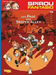 Spirou & Fantasio 52: Der Page der Sniper Alley (ISBN: 9783551774620)