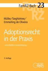 Adoptionsrecht in der Praxis (ISBN: 9783769411584)