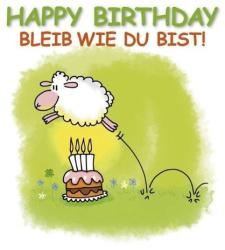 Happy Birthday - Bleib wie du bist (ISBN: 9783782793117)