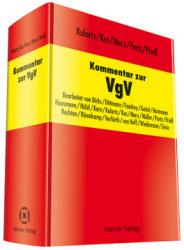 Kommentar zur VgV (ISBN: 9783804154636)