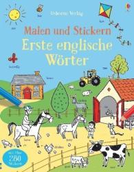 Malen und Stickern: Erste englische Wrter (ISBN: 9781782326809)