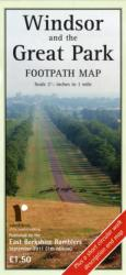 WINDSOR GREAT PARK FOOTPATH MAP (2011)
