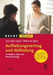 Aufhebungsvertrag und Abfindung (ISBN: 9783766367495)