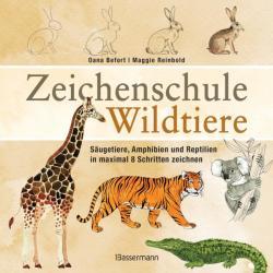 Zeichenschule Wildtiere (ISBN: 9783809439837)