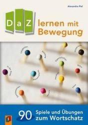 DaZ lernen mit Bewegung - Alexandra Piel (ISBN: 9783834640505)