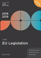 Core EU Legislation 2018-19 (ISBN: 9781352003598)