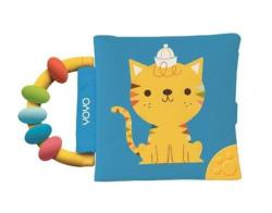 My Soft Rattle and Teether Book: Cat (ISBN: 9789463781077)