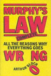 Murphy's Law - Arthur Bloch (2002)