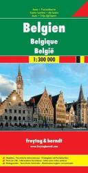 Belgium térkép / freytag & berndt (2011)