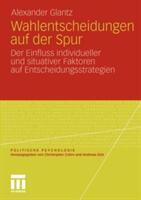 Wahlentscheidungen Auf Der Spur (2011)
