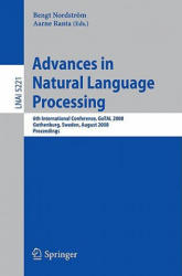 Advances in Natural Language Processing (2008)