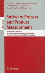 Software Process and Product Measurement (2008)