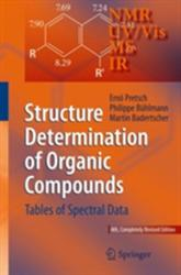 Structure Determination of Organic Compounds - Tables of Spectral Data (2009)