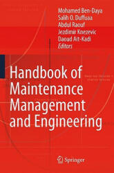 Handbook of Maintenance Management and Engineering (2009)
