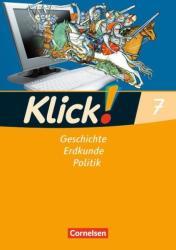Klick! 7. Schuljahr. Arbeitsheft. Geschichte, Erdkunde, Politik - Westliche Bundeslnder (2008)