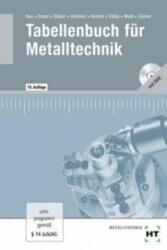 Tabellenbuch für Metalltechnik, m. DVD-ROM - Wilhelm Dax, Nikolaus Drozd, Wolf-Dieter Gläser (2011)