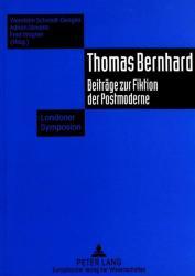 Thomas Bernhard (ISBN: 9783631494042)