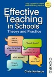 Effective Teaching in Schools Theory and Practice (2009)