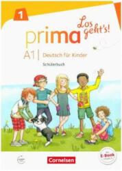Prima - Los geht's! Band 1 - Schlerbuch mit Audios online (ISBN: 9783065206259)