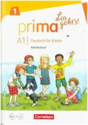 Prima - Los geht's! Band 1 - Arbeitsbuch mit Audio-CD und Stickerbogen (ISBN: 9783065206273)