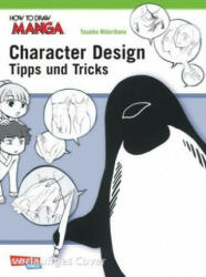 How To Draw Manga: Character Design - Tipps und Tricks (ISBN: 9783551739841)