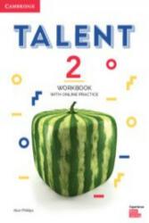 Talent Level 2 Workbook with Online Practice (ISBN: 9781108567329)
