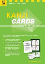 Kanji Cards Kit Volume 4 - Alexander Kask (ISBN: 9780804851763)