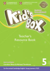 Kid's Box Level 5 Teacher's Resource Book with Online Audio American English - Kate Cory-Wright (ISBN: 9781316627389)