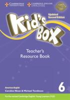 Kid's Box Level 6 Teacher's Resource Book with Online Audio American English - Kate Cory-Wright (ISBN: 9781316627396)