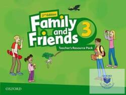 Family Friends: Level 3: Teacher's Resource Pack (ISBN: 9780194809313)