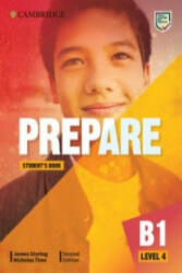 Prepare Level 4 Student's Book - James Styring, Nicholas Tims (ISBN: 9781108433303)