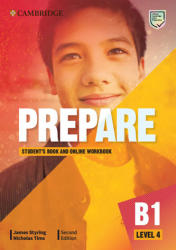 Prepare Level 4 Student's Book with Online Workbook - James Styring, Nicholas Tims (ISBN: 9781108380614)