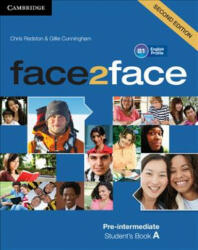 face2face Pre-intermediate A Student's Book - Chris Redston, Gillie Cunningham (ISBN: 9781108449007)