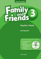 Family and Friends American Edition: 3: Teacher's Book & CD-ROM Pack - Alex Raynham (ISBN: 9780194814010)