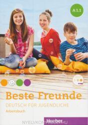Beste Freunde A1/1. Arbeitsbuch mit Audio-CD - Manuela Georgiakaki, Monika Bovermann, Christiane Seuthe, Anja Schümann (ISBN: 9783194010512)