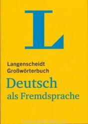 Langenscheidt Growrterbuch Deutsch als Fremdsprache - fr Studium und Beruf (ISBN: 9783125140660)