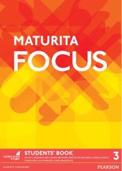 Maturita Focus Czech 3 Students' Book - Sue Kay (ISBN: 9781292130149)